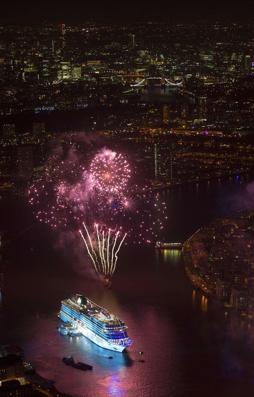 Viking Sea Christening Ceremony Cruise Ship Scandinavian Cruises Luxury Cruise Ship