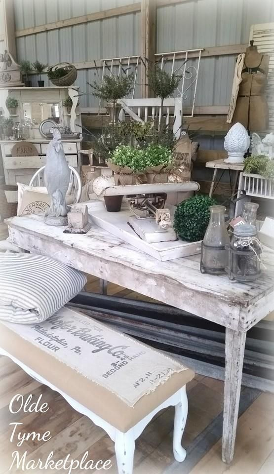 Olde Tyme Marketplace Furniture Store Display Antique Booth Displays Antique Store Displays
