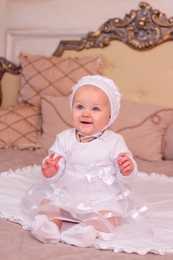4ab39bd967d8 baby girl baptism dress