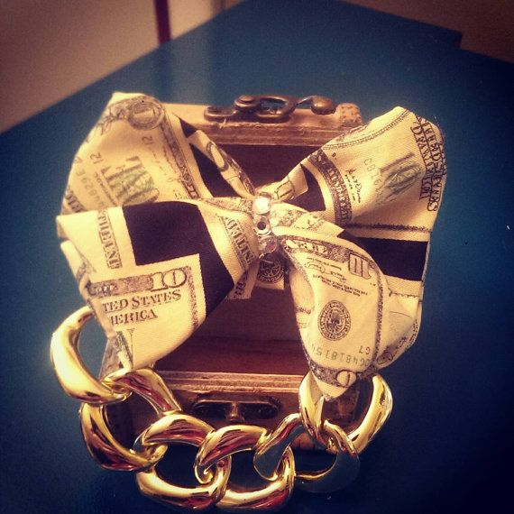 Check out this item in my Etsy shop https://www.etsy.com/listing/227561678/hip-hop-themed-doggie-bow-tie-with-gold