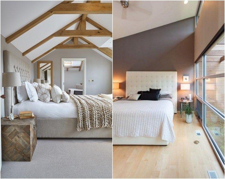 Chambre grise d co et am nagement splendides en 82 id es chambre bedroom decor fantasy - Chambre parentale grise ...