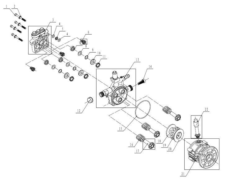 Simoniz 039 8583 4 Washer Parts Cards Pressure Washer