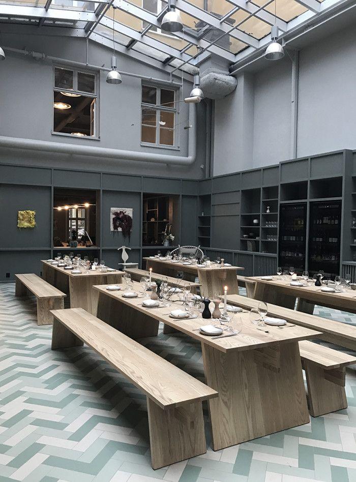 Interior Design · Alma Creative Membership Club Stockholm 5