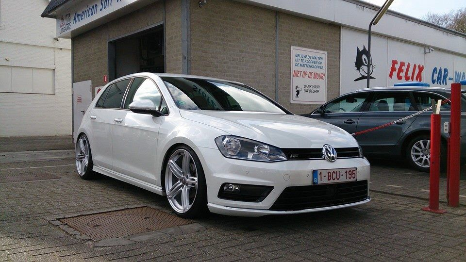 vw golf vii r line in rs6 wheels it 39 s a guy thing pinterest golf vw and wheels. Black Bedroom Furniture Sets. Home Design Ideas