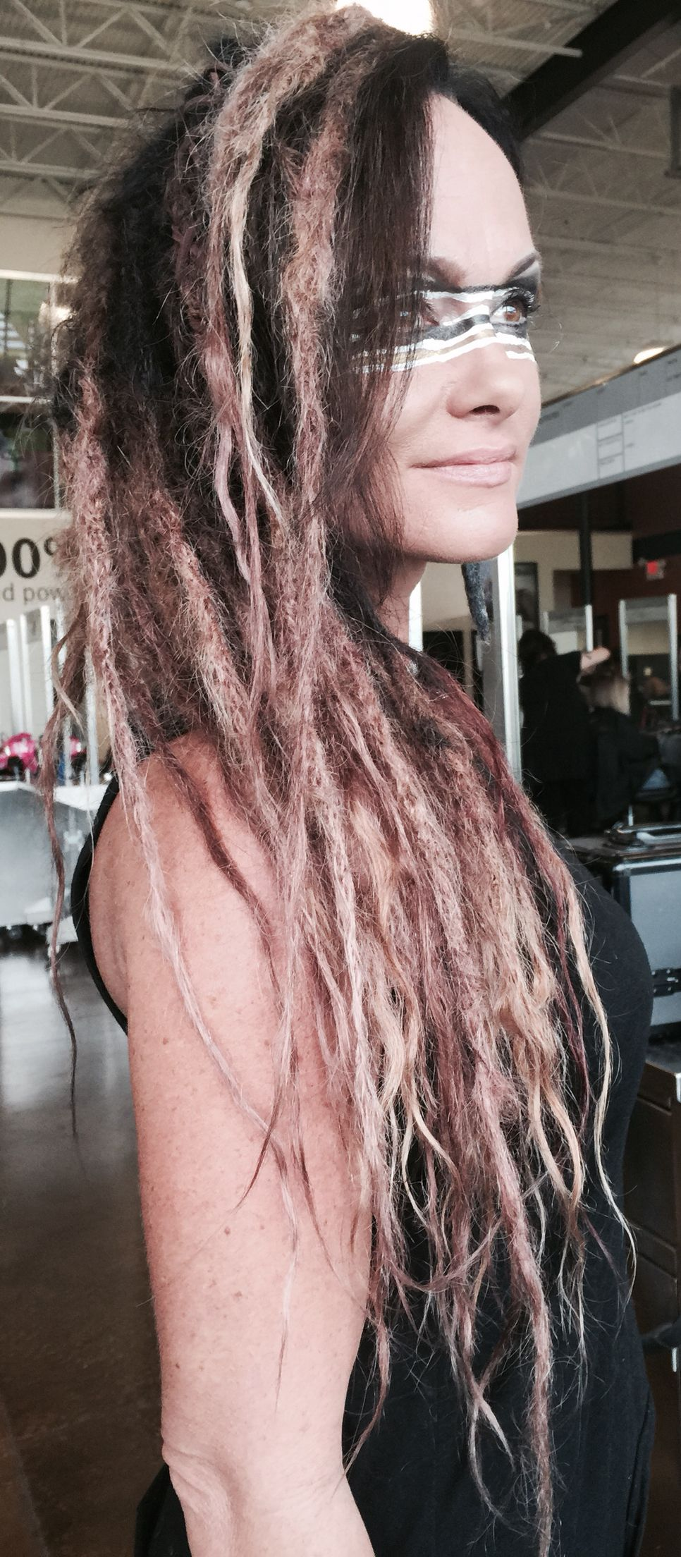 Ombre Dreadlock Extensions By Amy Short Hairextensions Dreadlocks