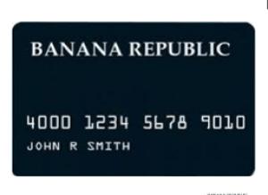 Alaska Credit Card Login >> Banana Republic Credit Card Login Login Banana Republic