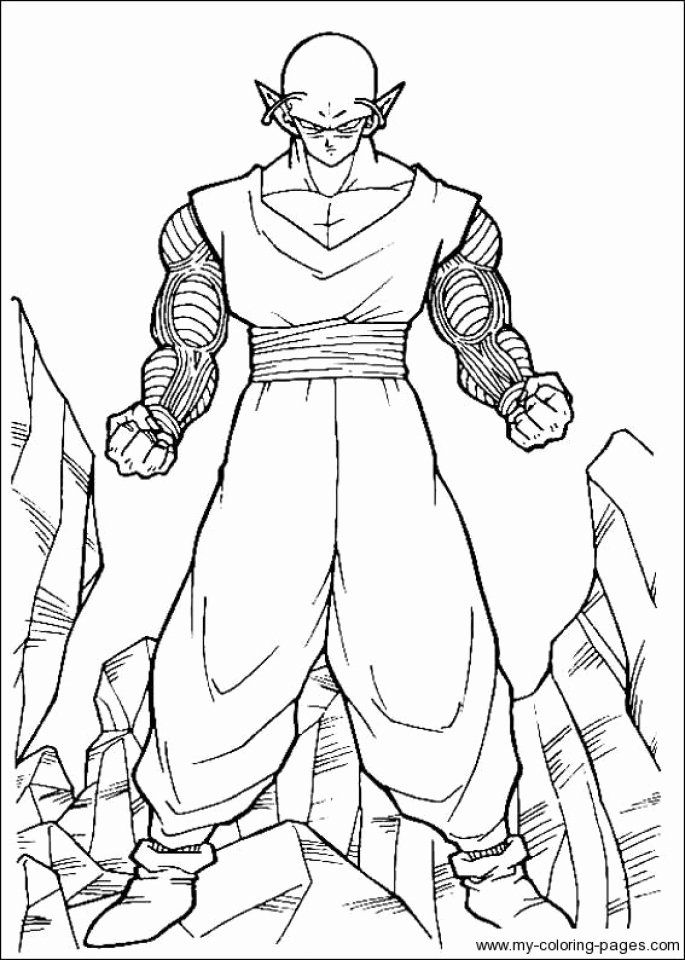 Dragon Ball Z Coloring Pages Printable Fresh Get This Printable Dragon Ball Z Coloring Pages Line Dragon Ball Artwork Dragon Ball Dragon Ball Goku