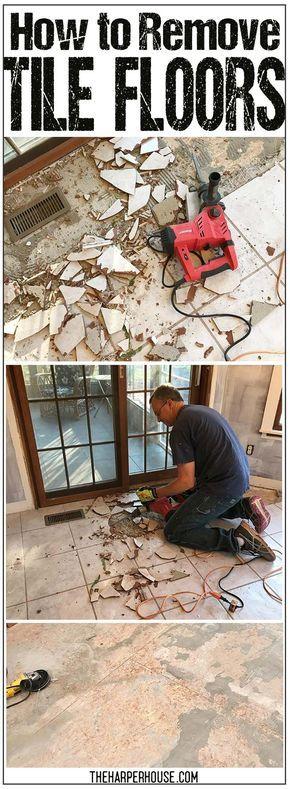 How To Remove Tile Floors Tile Flooring Ceramic Tile Floors And House