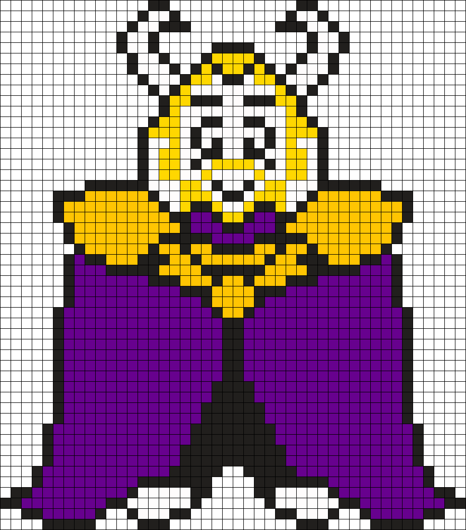 Undertale Asgore Sprite Undertale Pixel Art Pixel Art Grid Anime Pixel Art
