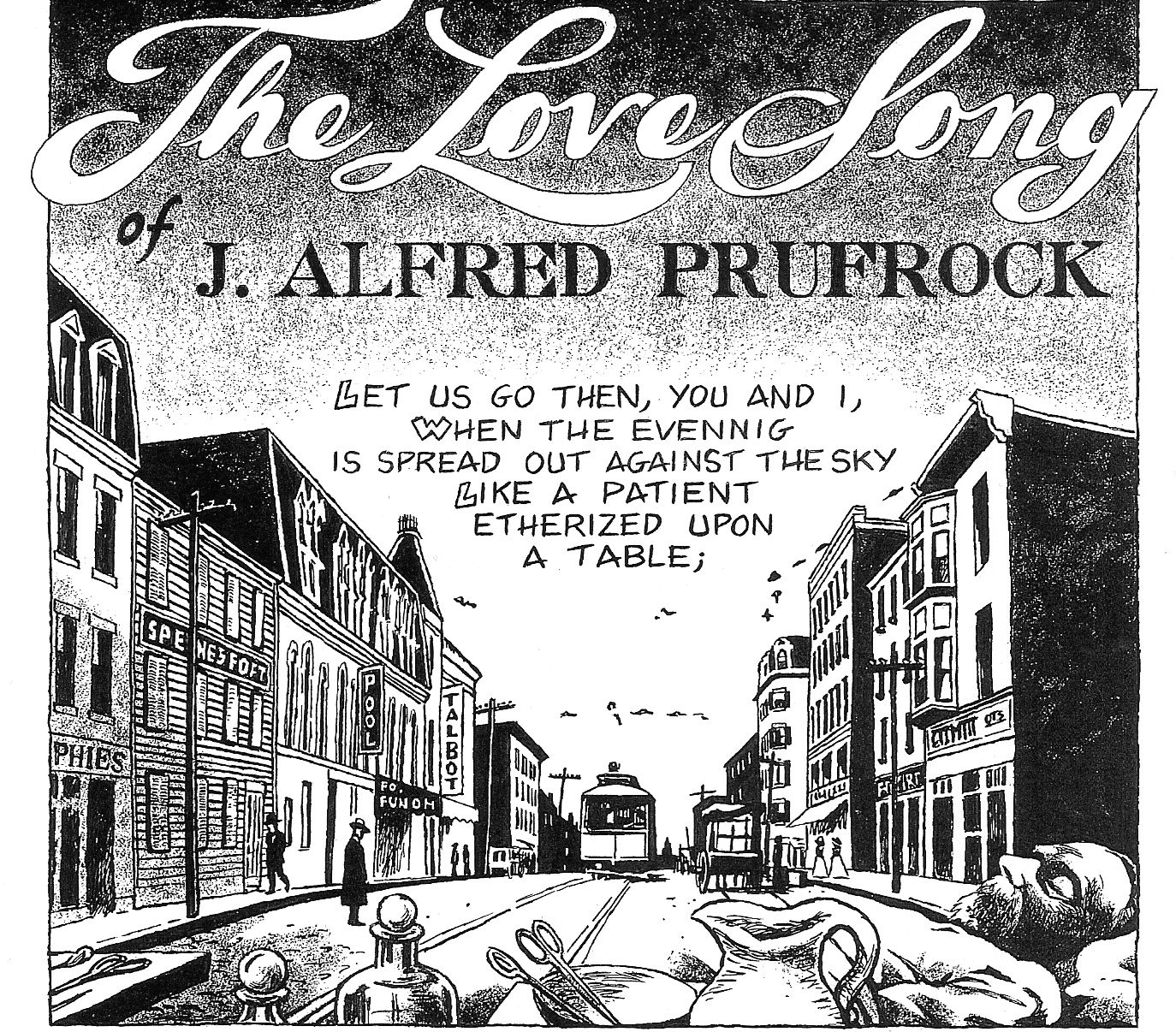 characterization of j alfred prufrock from the poem the love song of j alfred prufrock Surrealism is a dangerous word to use about the poet, playwright and critic ts eliot, and certainly with his first major work, 'the love song of j alfred prufrock .