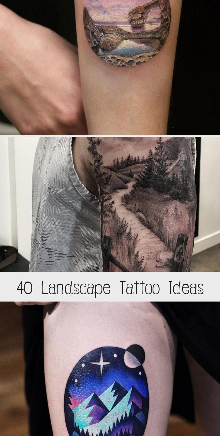 Photo of Idées de tatouage de paysage #RomanArtTattoo #RenaissanceArtTattoo #ArtTattooEscrita # …