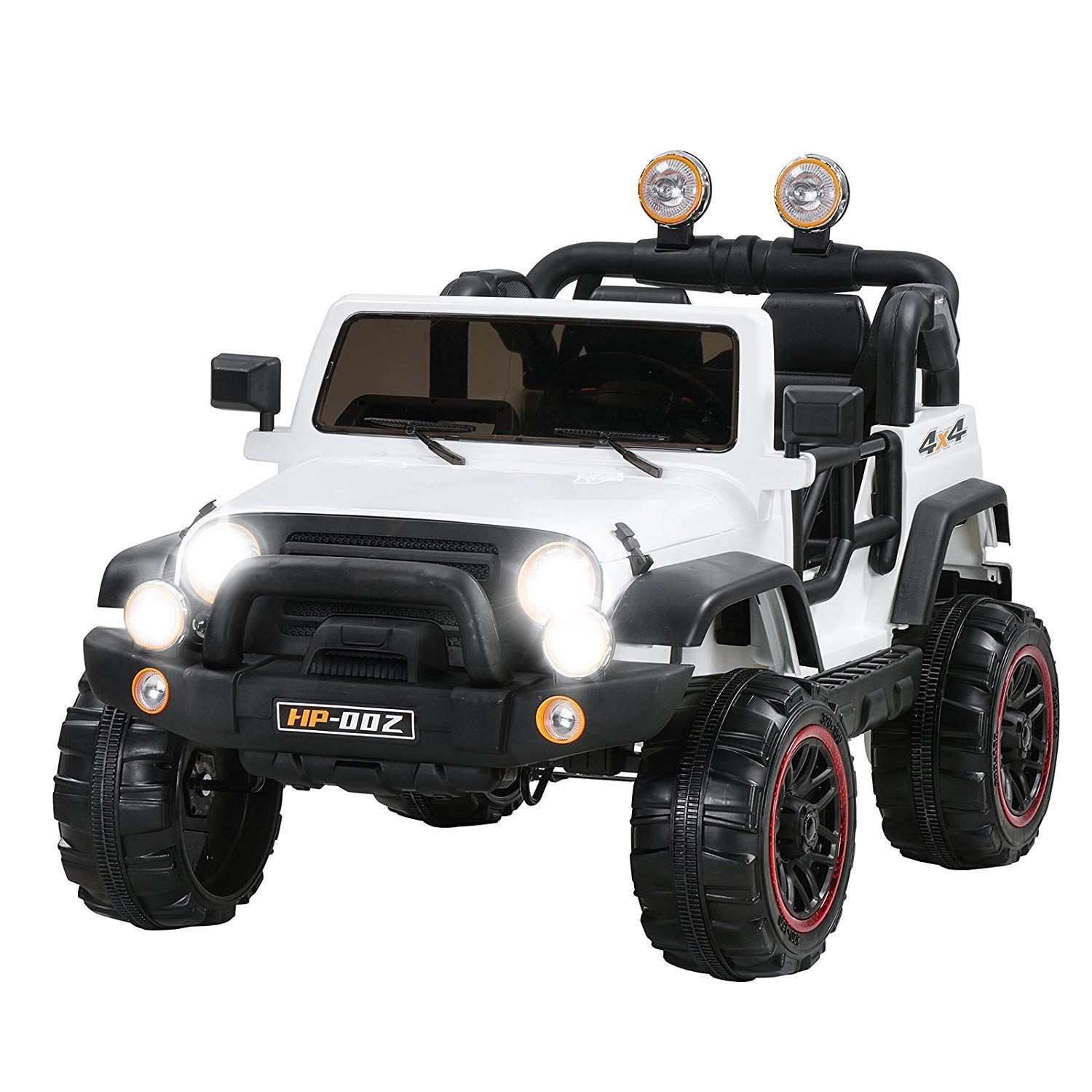 Uenjoy Jeeps Power Wheels 12v Children S Electric Cars Kid S Ride On