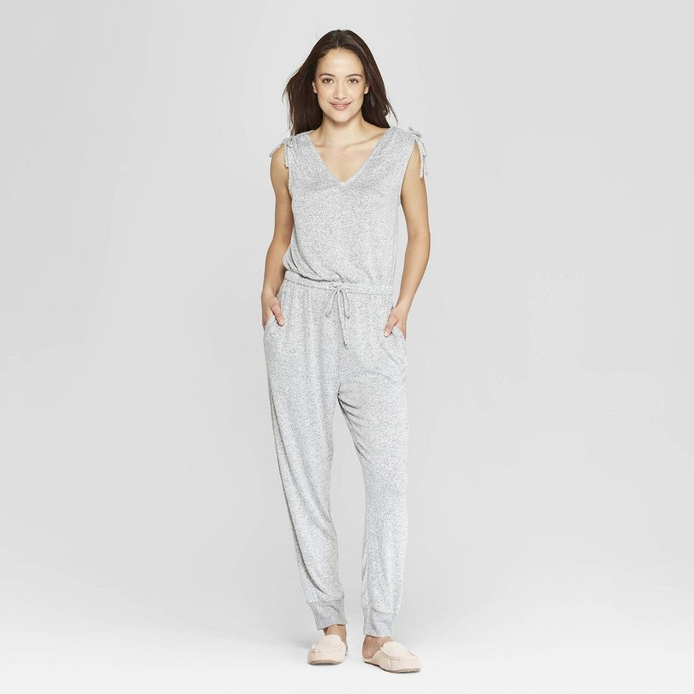 51daa147070 Women s Perfectly Cozy Lounge Jumpsuit - Stars Above Gray Xxl ...