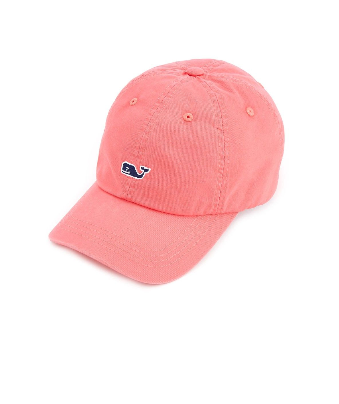 77763ef1923 Vineyard Vines Kids Classic Logo Baseball Hat - Flamingo 1Sz ...