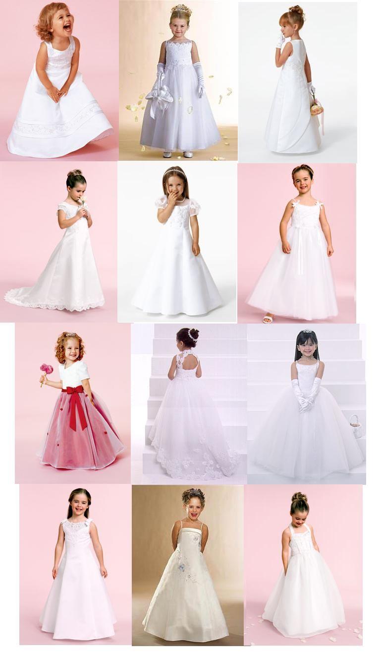 Wedding Dresses For Children - Ocodea.com