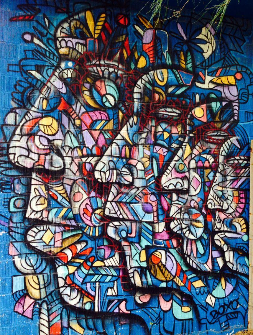 Across from lie Dalia on E. 12th. Art, Graffiti, Street art