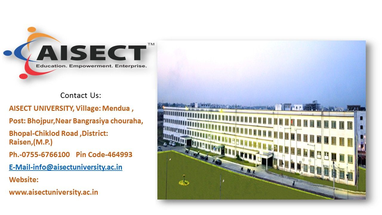 AISECT University is Among the Best M.Phil College in MP