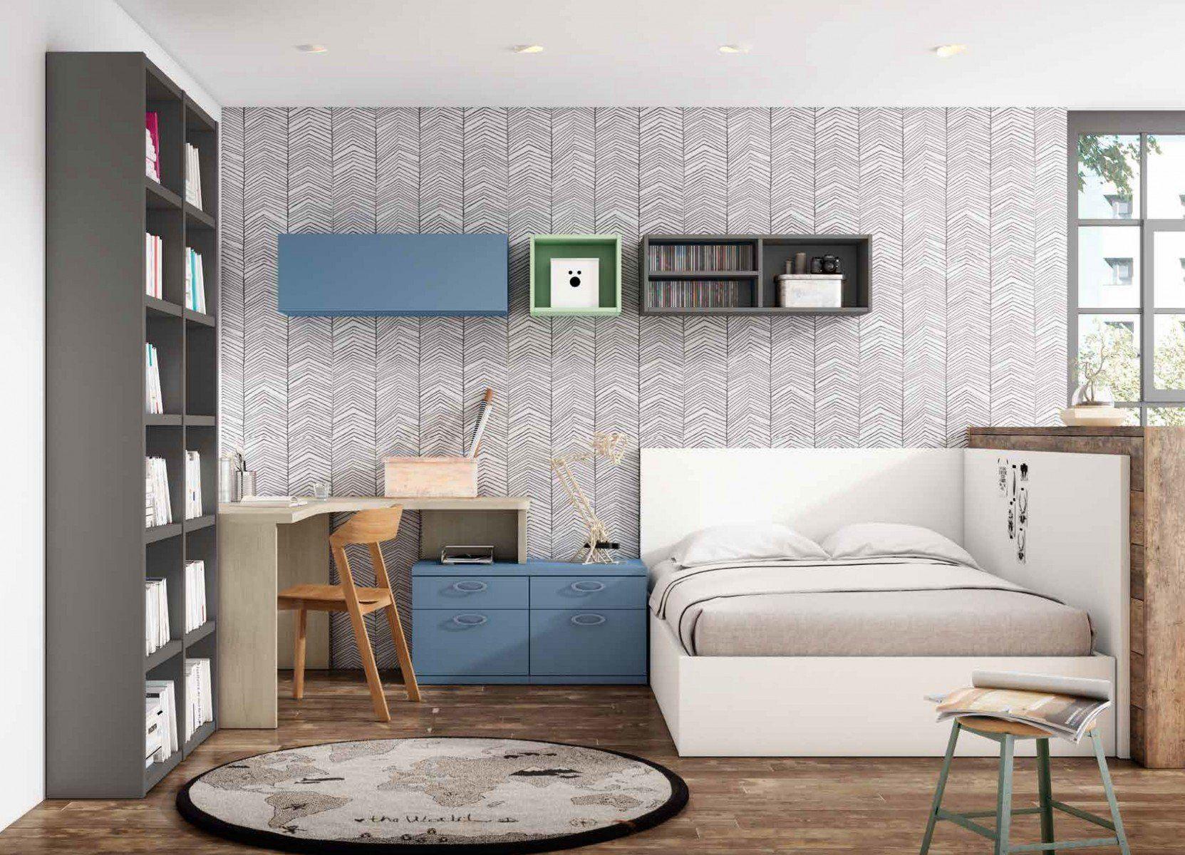 Dormitorio juvenil moderno 270 050 juveniles 2017 2018 for Tocadores modernos juveniles