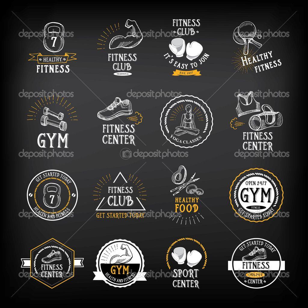 130 fitness logo ideas design inspiration for gym