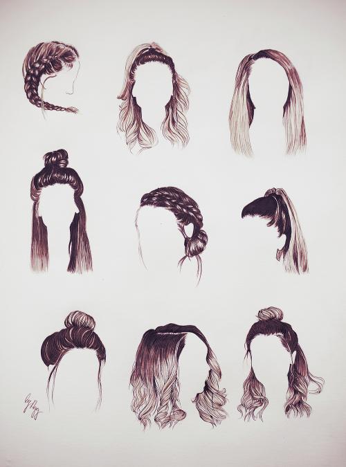 Miradas ganadoras con dibujos de peinados Fotos de cortes de pelo tendencias - tumblr - Buscar con Google | Dibujos de peinados, Peinados ...