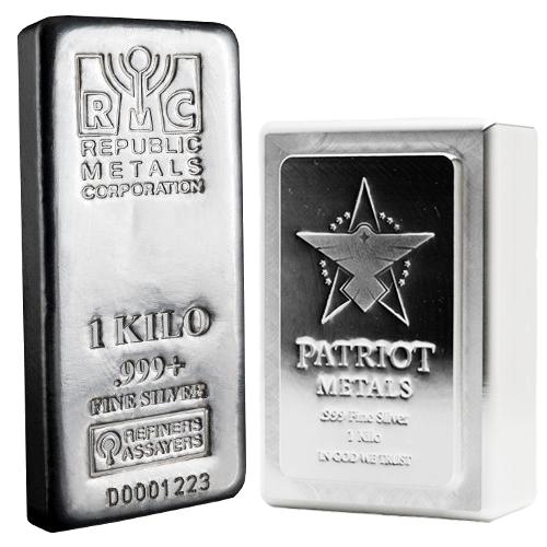 Dup 1 Kilo Silver Bar Varied Condition Mint Silver Bars Silver Precious Metals