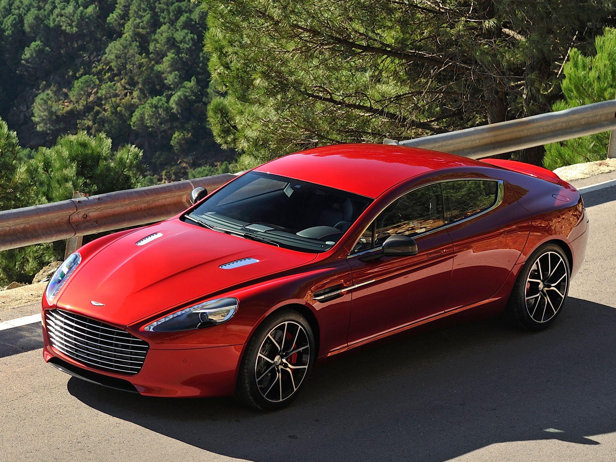 Обои rapide s, Red, White, машины, две. Автомобили foto 7