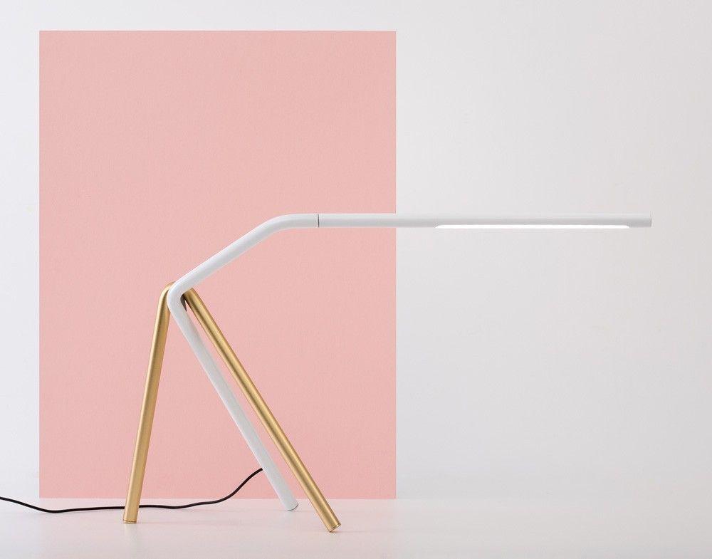 Linear task light features a tubular form lights product design linear task light features a tubular form designboom shop aloadofball Images