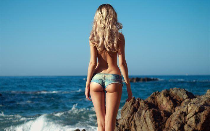 Эмо девушки на море фото блондинок фото 347-658