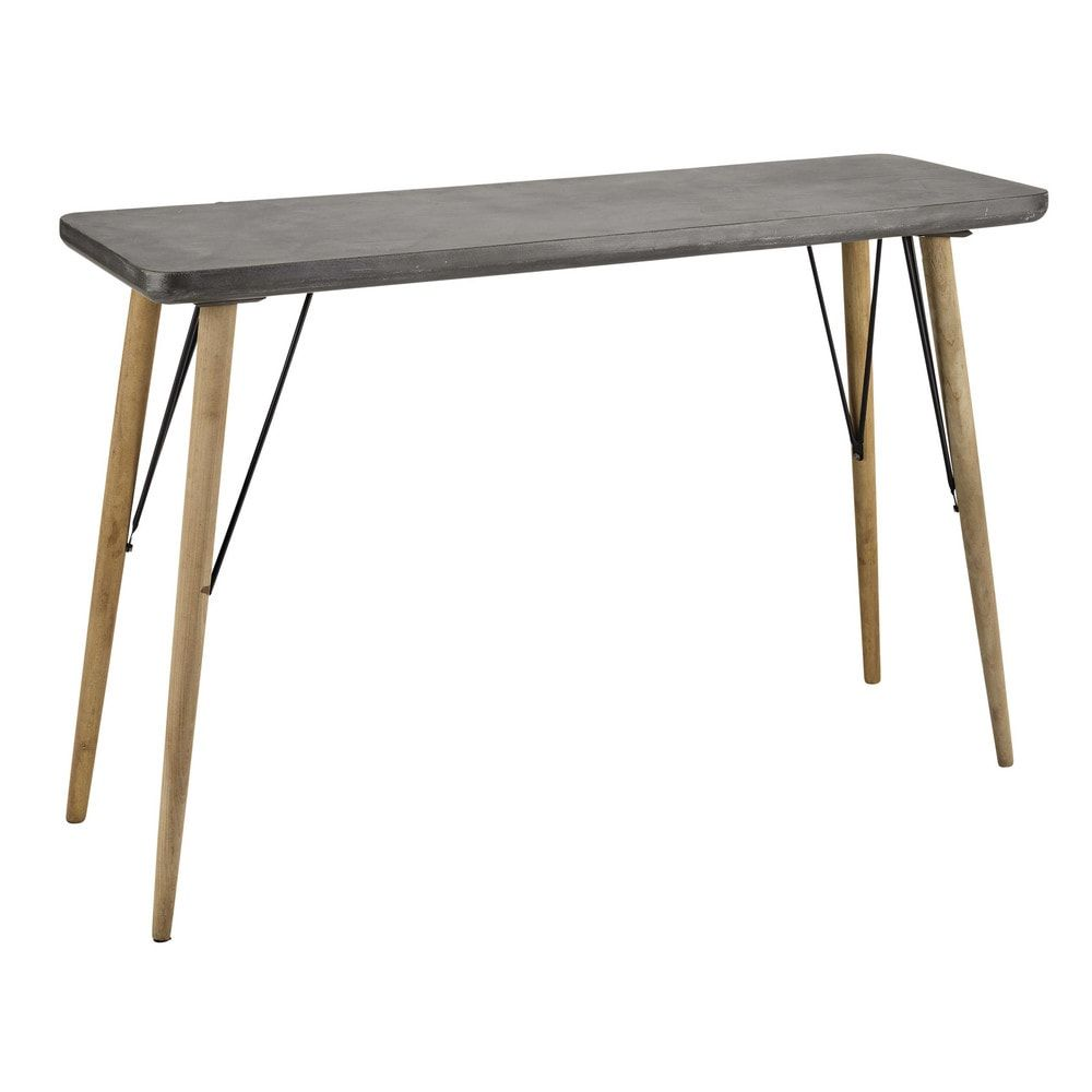Table Console Grise Pinterest Console Tables And Consoles