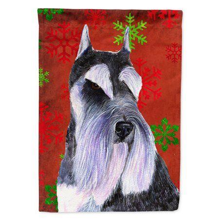 Carolines Treasures Norwich Terrier Snowflakes Holiday Night Light 6 x 4 Multicolor
