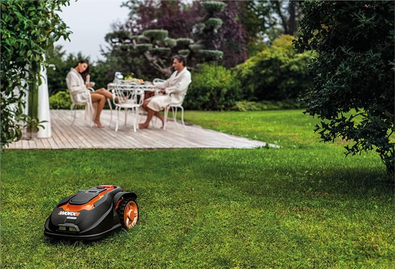 WORX Robotic Lawn Mower Beats the Heat Without Breaking a