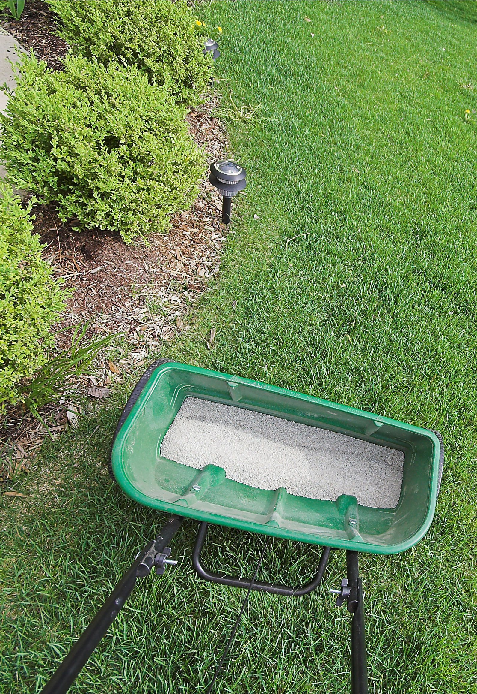 How To Use A Lawn Spreader The Right Way Video Quick