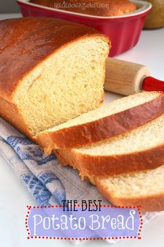 The best potato bread ever- explained step by step. You'll amaze your friends and family when you present your beautifully risen and baked loaves.