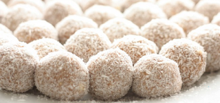 coconut butter balls. HEALTHY only real food ingredients. 3 ingredients. no bake, easy to make. DELICIOUS