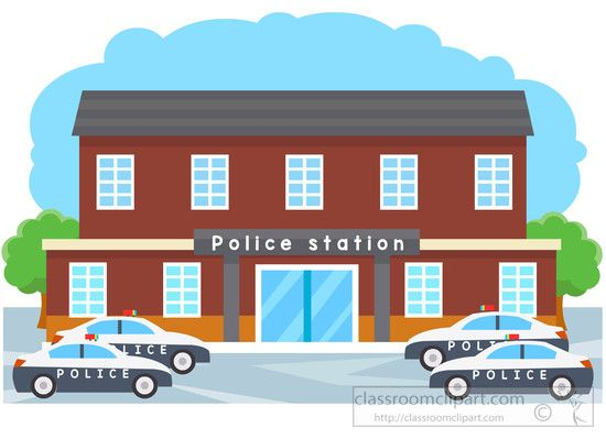 legal police station with police cars parked clipart classroom rh pinterest com police station building clipart police station clipart free