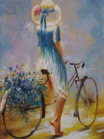 Esta Pintura Es Muy Llamativa Por Sus Colores Representa A La Primavera
