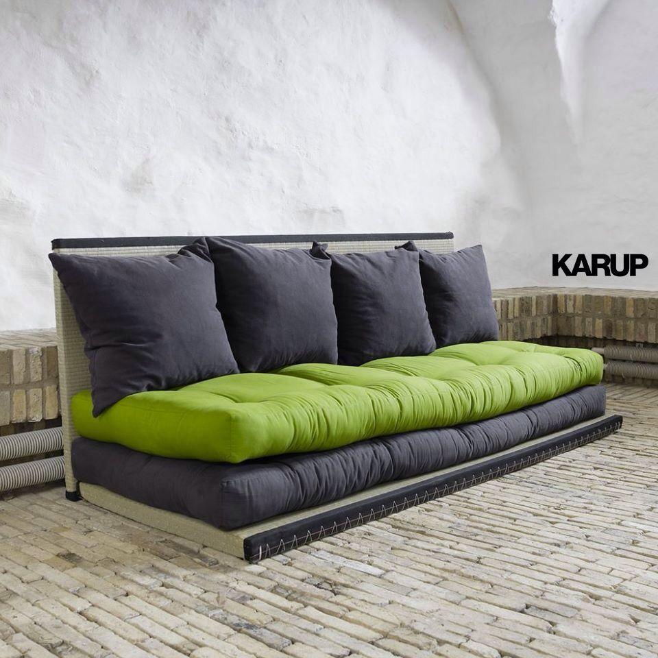 Divano svedese karup Letto futon, Futon, Divano letto