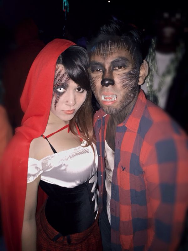 little red riding hood and the big bad wolf costumes More  sc 1 st  Pinterest & 15+ Ideas About Wolf Halloween Makeup u0026 Tutorial   Pinterest   Big ...