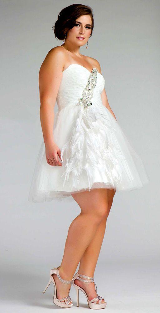 Very cute mini wedding dress | Wedding Dresses and Shoes | Pinterest ...