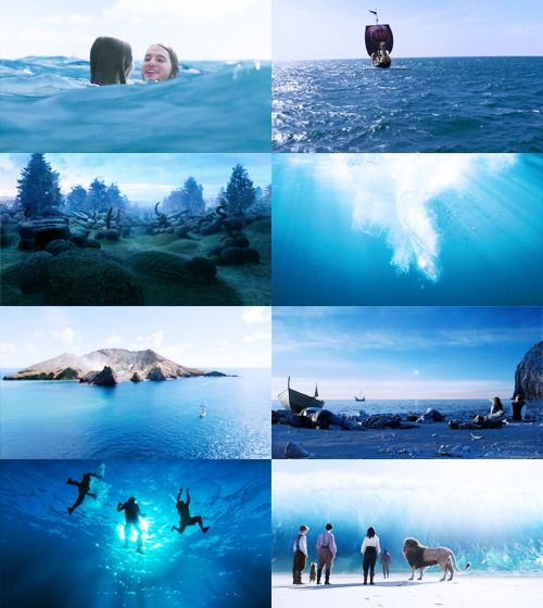 All The Blue Scenes In The Voyage Of The Dawn Treader 2