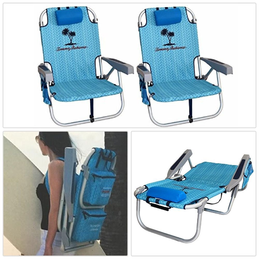 backpack cooler beach chair where can i buy covers new 2 with storage pouch towel bar outdoor travel make sure this fits by entering your model number