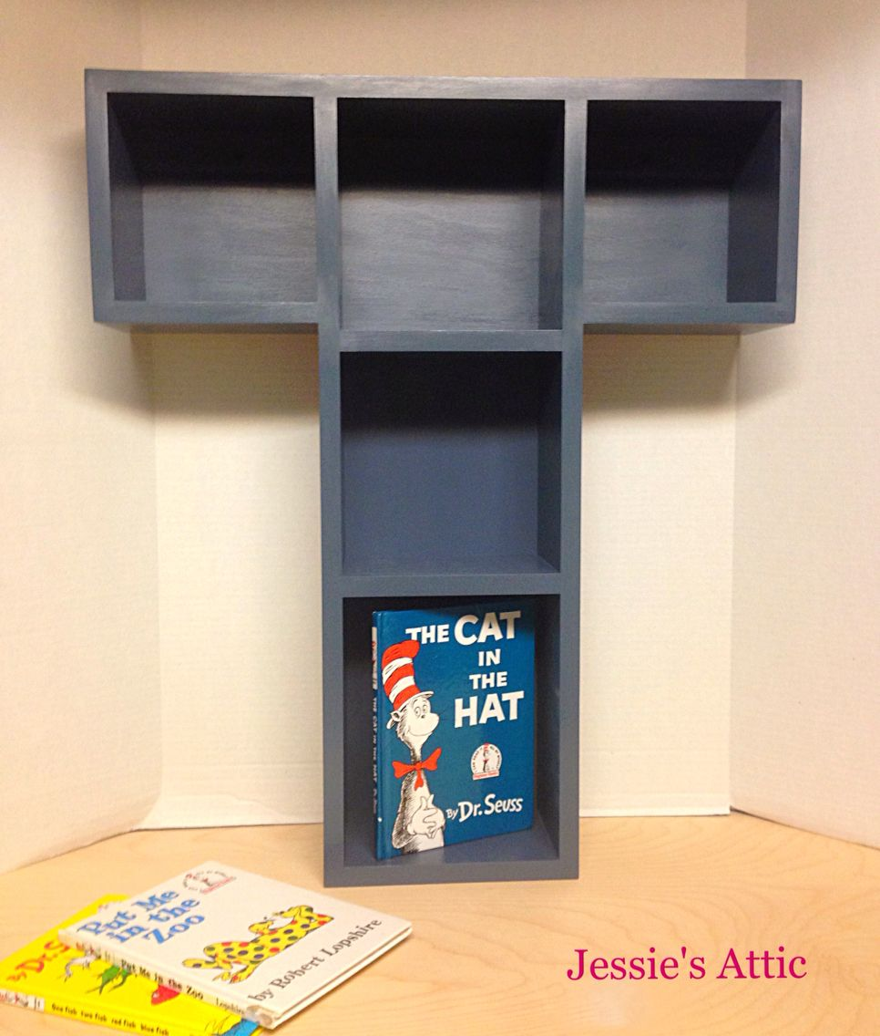 A Z Letter Bookshelf From Jessies Attic