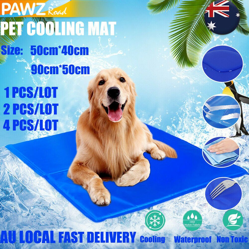 Details About Pet Cooling Mat Dog Cat Chilly Non Toxic Lareg Dog