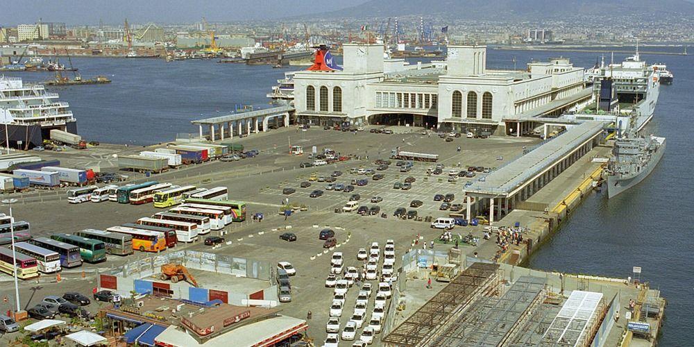 Port Naples Cruise Ferry Terminal Stazione Maritima Napoli With