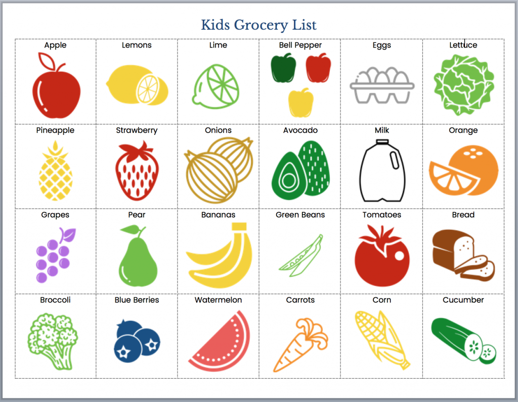 6 Reasons To Involve Kids In Grocery Shopping