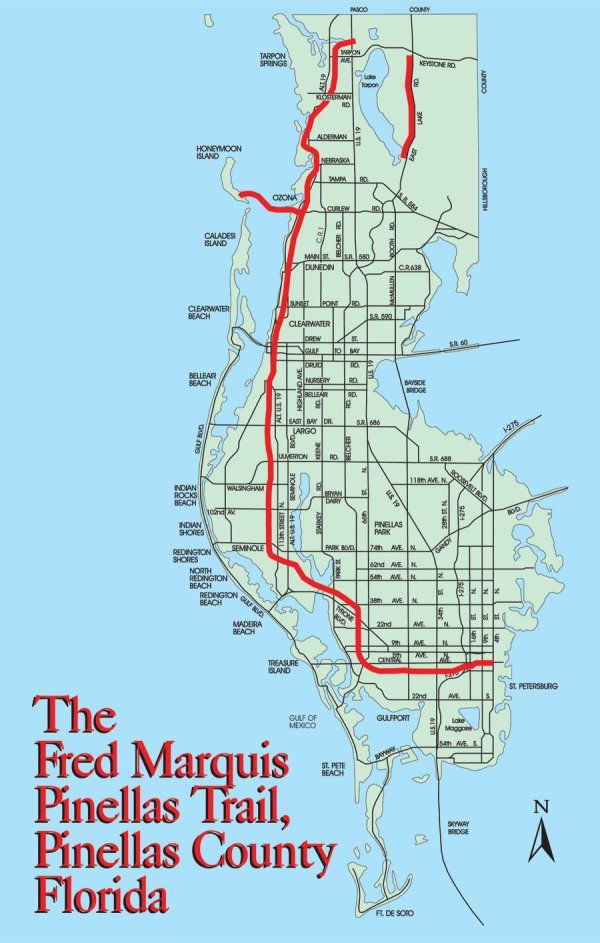 Florida S Pinellas Trail Is One Of The Best Places To Bike