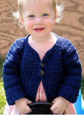cbe928045ec4 Rustic Raglan crochet baby sweater -- my design
