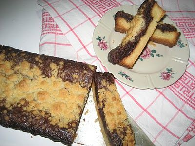 """Bella Baita View"": Nutella Crumb Crostata, for any day including World Nutella Day 2011"