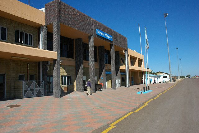 Maun international airport, Maun, Botswana