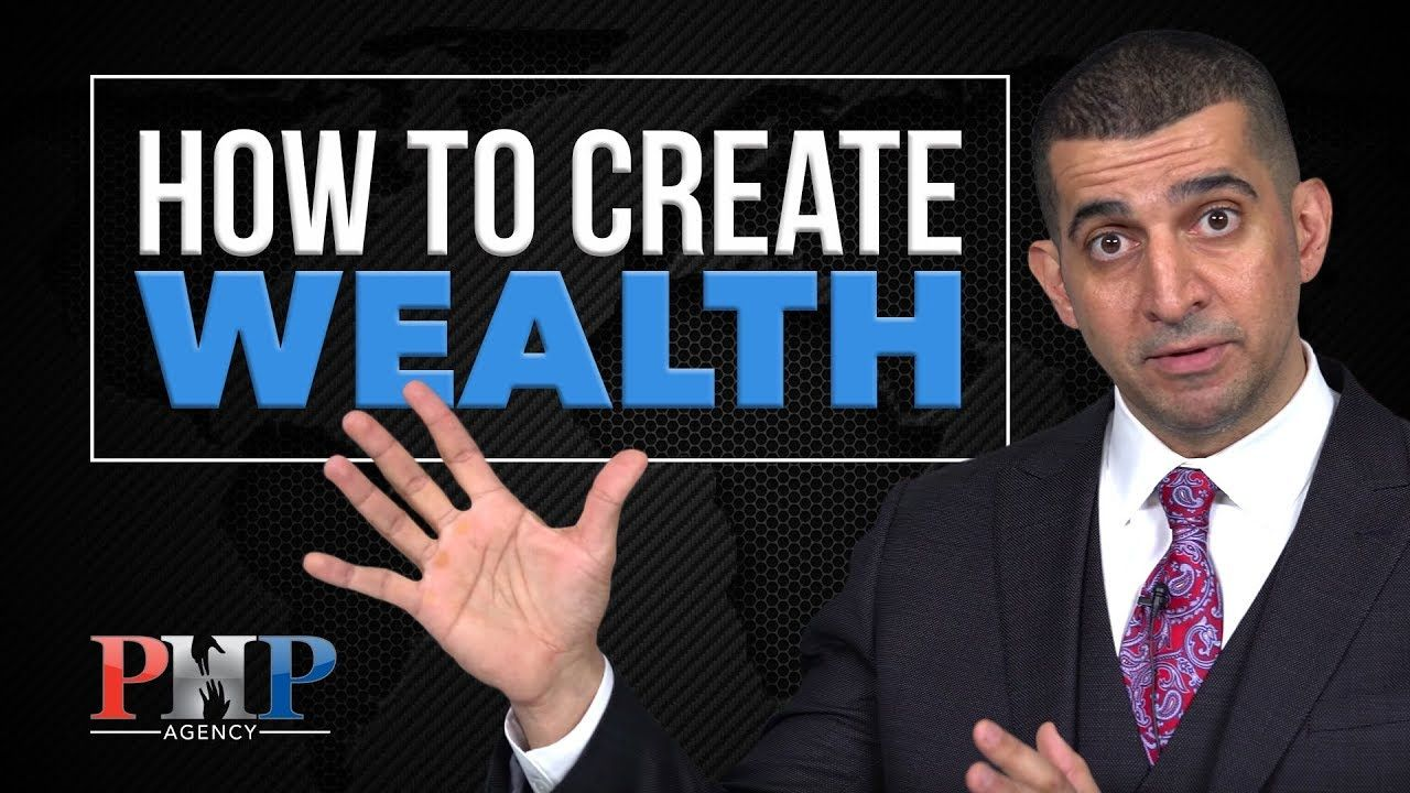 4 steps on how to create wealth youtube insurance